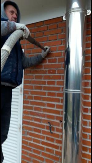 insuflado de celulosa desde exterior